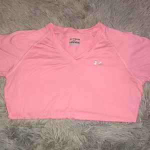 Under Armour Tops - under armour Light Pink Workout Tee
